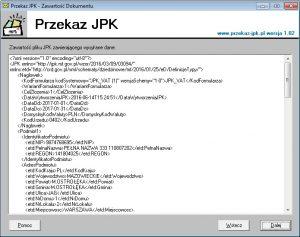 Dokument jednolity plik kontrolny