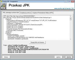 XML z dokumentem